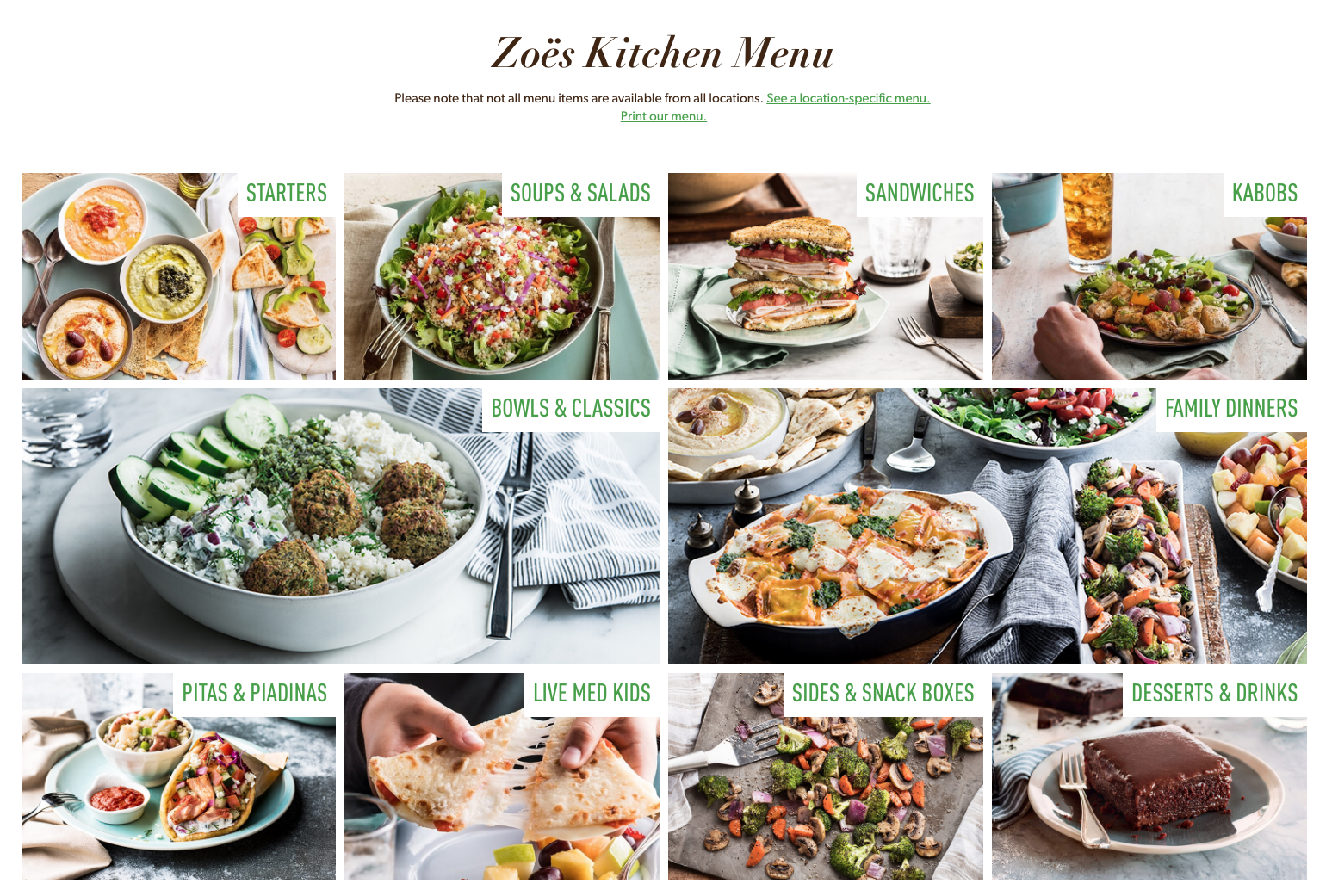 zoes kitchen restaurant in lake nona - Zoes Kitchen Locations