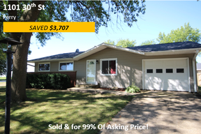 Single Family Home Sold: 1101 30th St