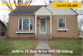Single Family Home Sold: 5320 Ovid Ave
