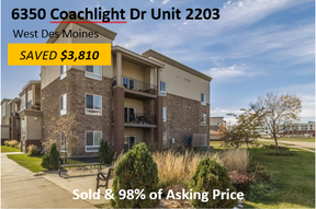 Condo/Townhouse Sold: 6350 Coachlight Drive #2203