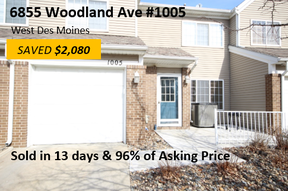 Condo/Townhouse Sold: 6855 Woodland Avenue #1005