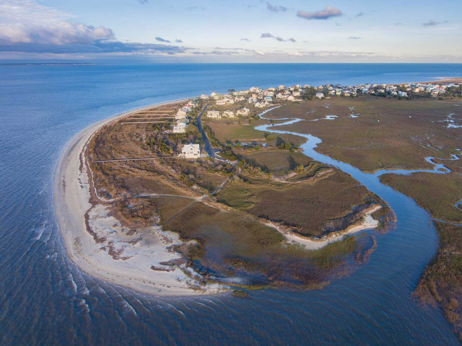 Harbor Island Aerial View