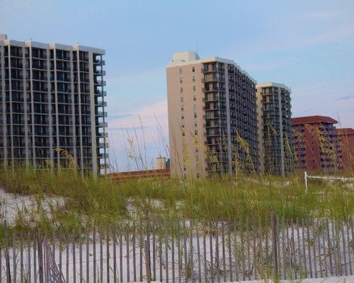 Phoenix Condo buildings along the coast