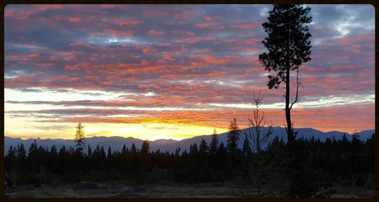 Moyie Springs Idaho Sunset