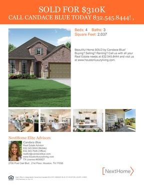 Single Family Home Sold: 2308 Redwood Ridge