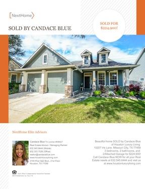 Single Family Home Sold: 10207 Iris Lane