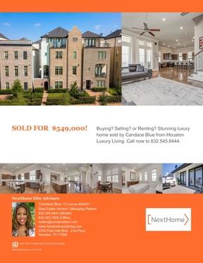Single Family Home Sold: 9630 Kings Cross Station