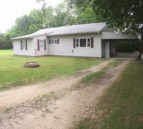 Wyandotte OK Single Family Home Sold: $67,900