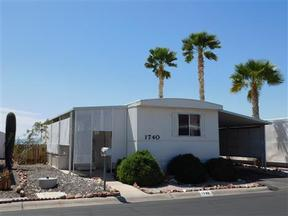 Manufactured Home Sold: 1740 Fleetwood St