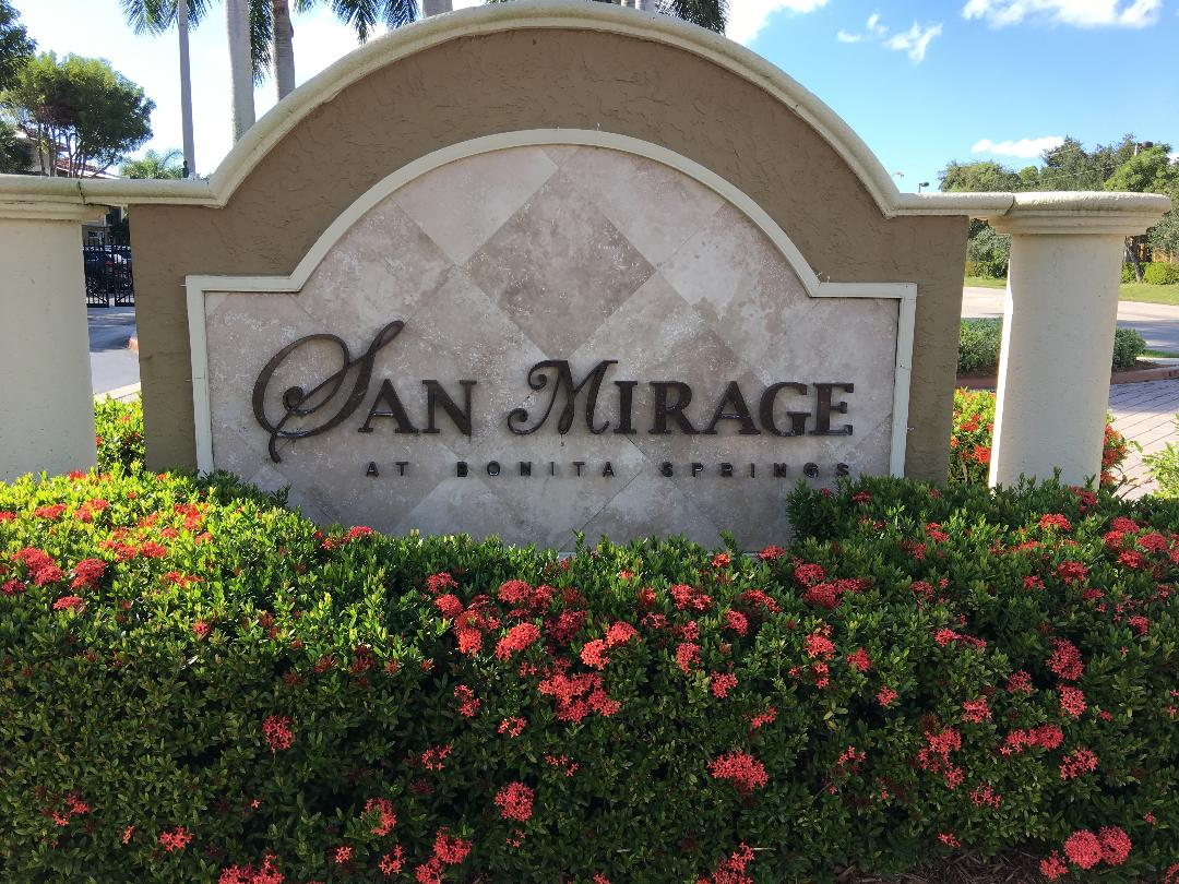 San Mirage Bonita Springs Fl Real Estate Condos For Sale I San