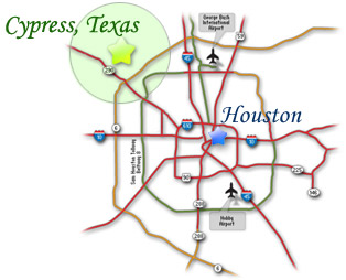 Map Of Cypress Tx on