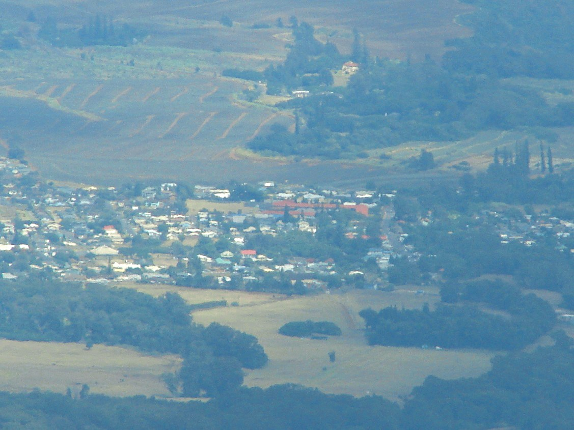 Makawao Aerial courtesy of Forrest & Kim Starr