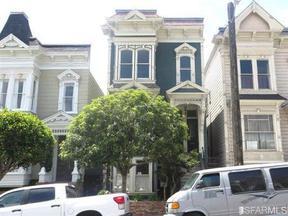 Residential Sold: 1825 1829 Laguna St