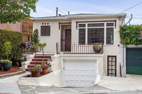 Multi Family Home CORONA HEIGHTS: 33 33-1/2 Levant St