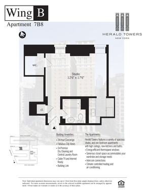 Unit For Rent For Rent: 50 WEST 34TH STREE #7B08