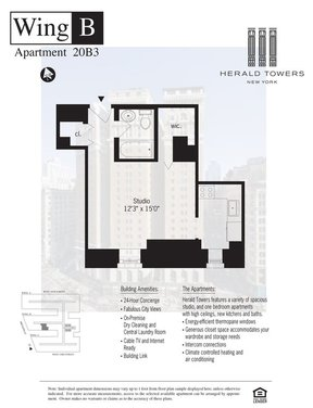 Unit For Rent For Rent: 50 WEST 34TH STREET #20B03