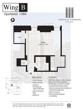 Unit For Rent For Rent: 50 WEST 34TH STREET #12B08