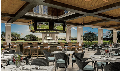 Shadow Wood Country Club proposed outdoor dining venue