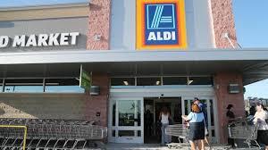 Aldi market storefront