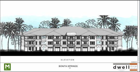 Rendering of Versol apartment building Bonita Springs 2019