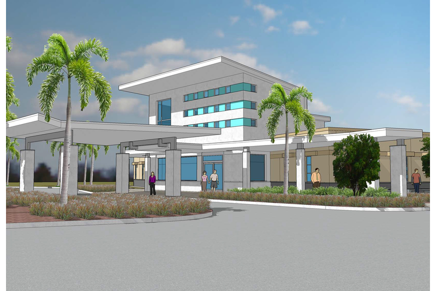 artists rendering of Performance Health Surgery Center coming to Fort Myers in 2018