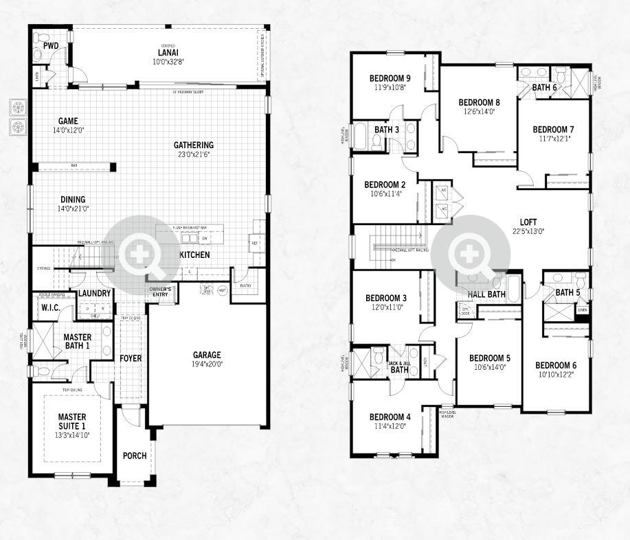 Solara Resort Floorplans Jc Penny Realty Jon Penny Broker Kissimmee Fl 407 778 5277