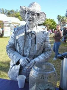 Living Statue - 2008 Winterfest