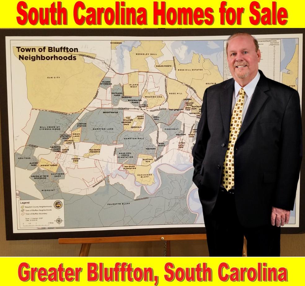 Bluffton, SC, Designated Market Areas, Geotargeting, Neighborhood Expert, Real Estate, Homes