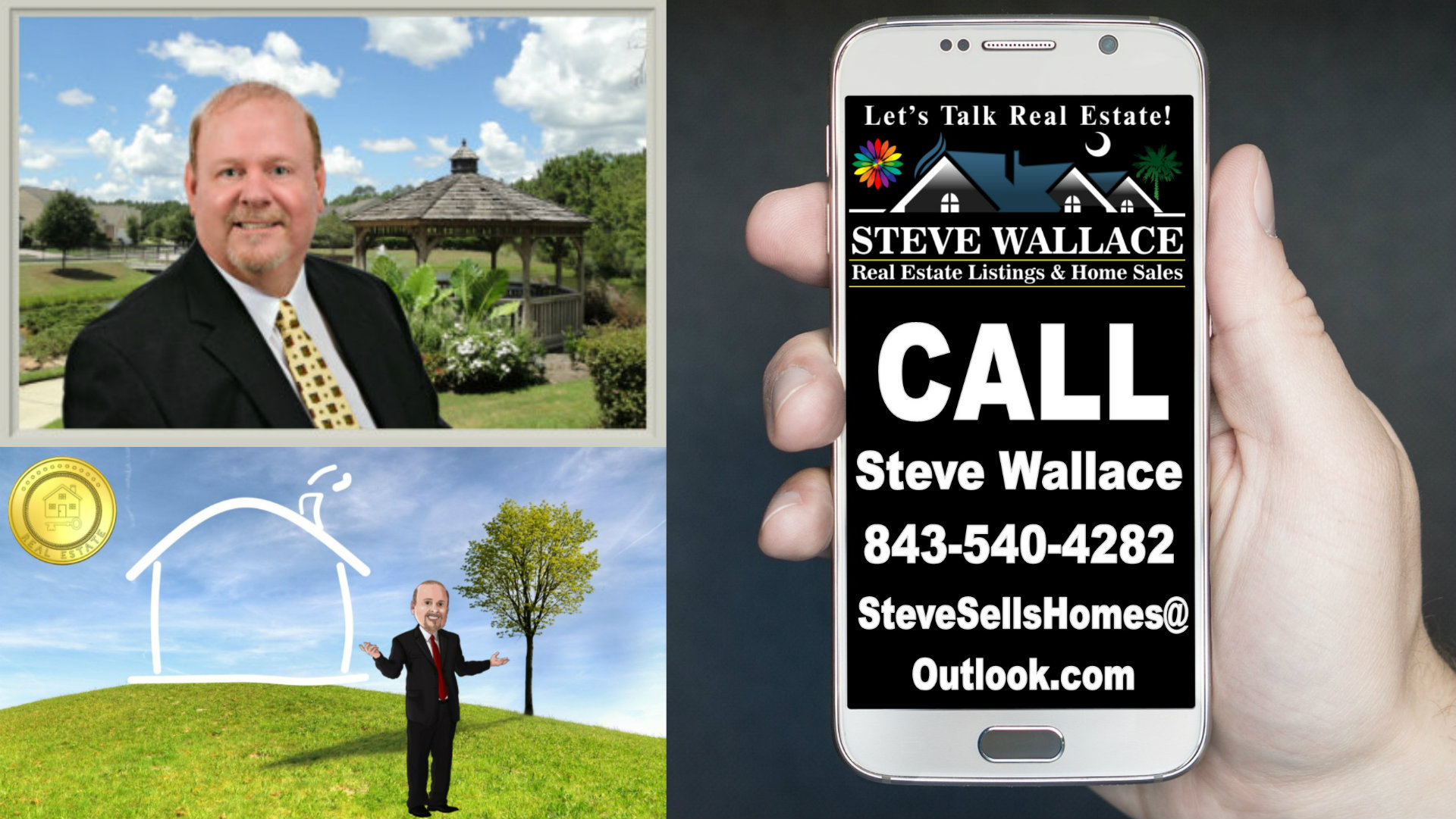 Call, Bluffton SC Real Estate Agent, Steve Wallace, Realtor, Let's Talk