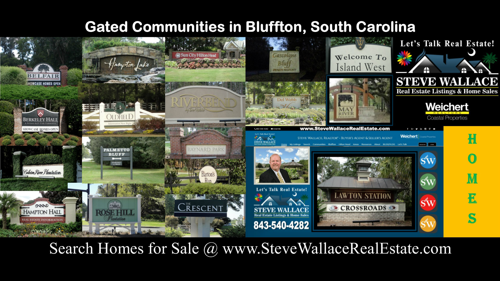 Complete, List, Bluffton, SC, Gated Communities, Comprehensive, Gated Neighborhoods, Plantations