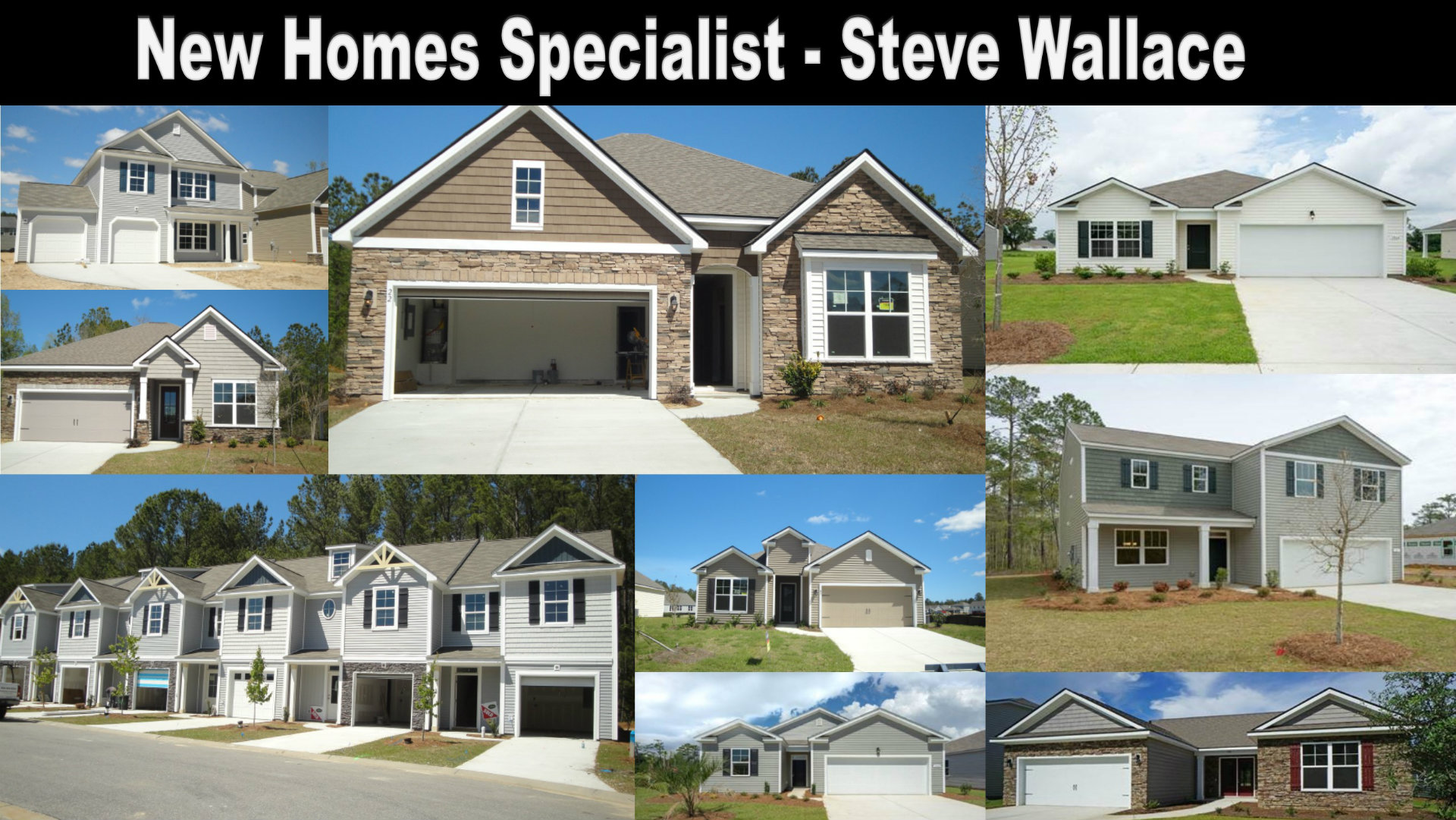 New Homes Specialist, Steve Wallace, Bluffton, SC, Build a Home
