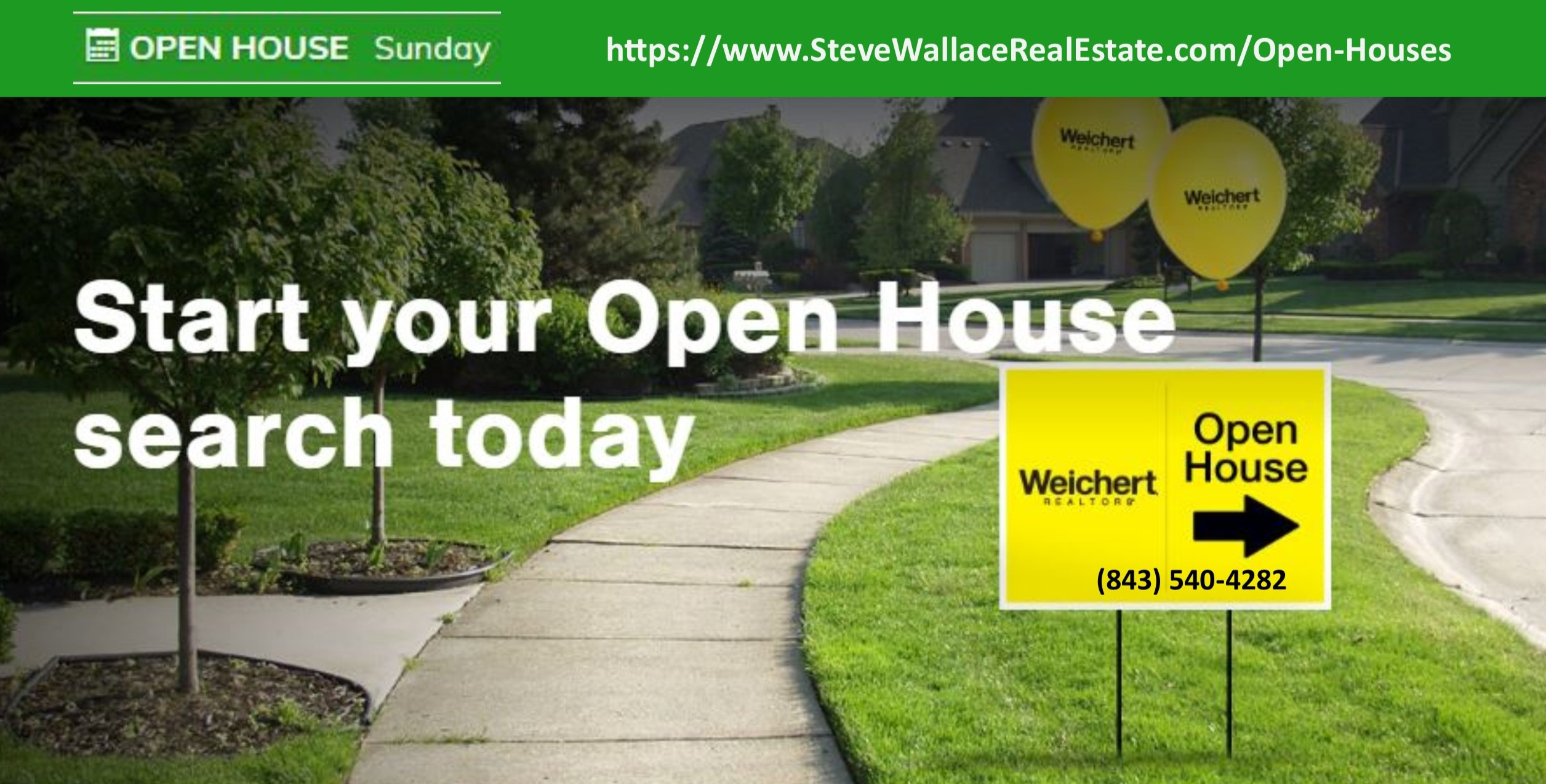 Open Houses, Bluffton, South Carolina, Sunday, Steve Wallace, Hosted