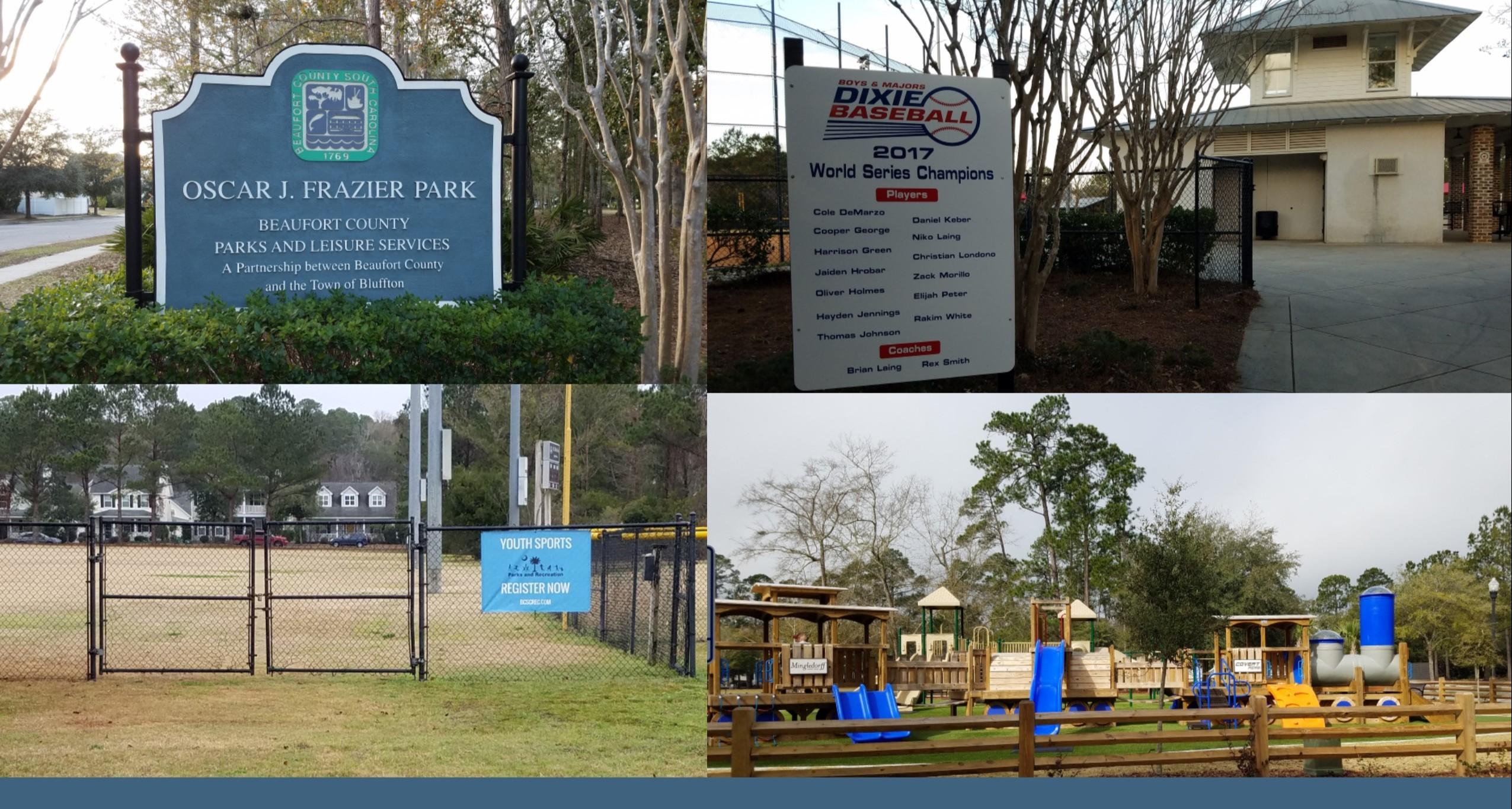 Oscar Frazier, Park, Amenities, Facilities, Bluffton, SC, 29910