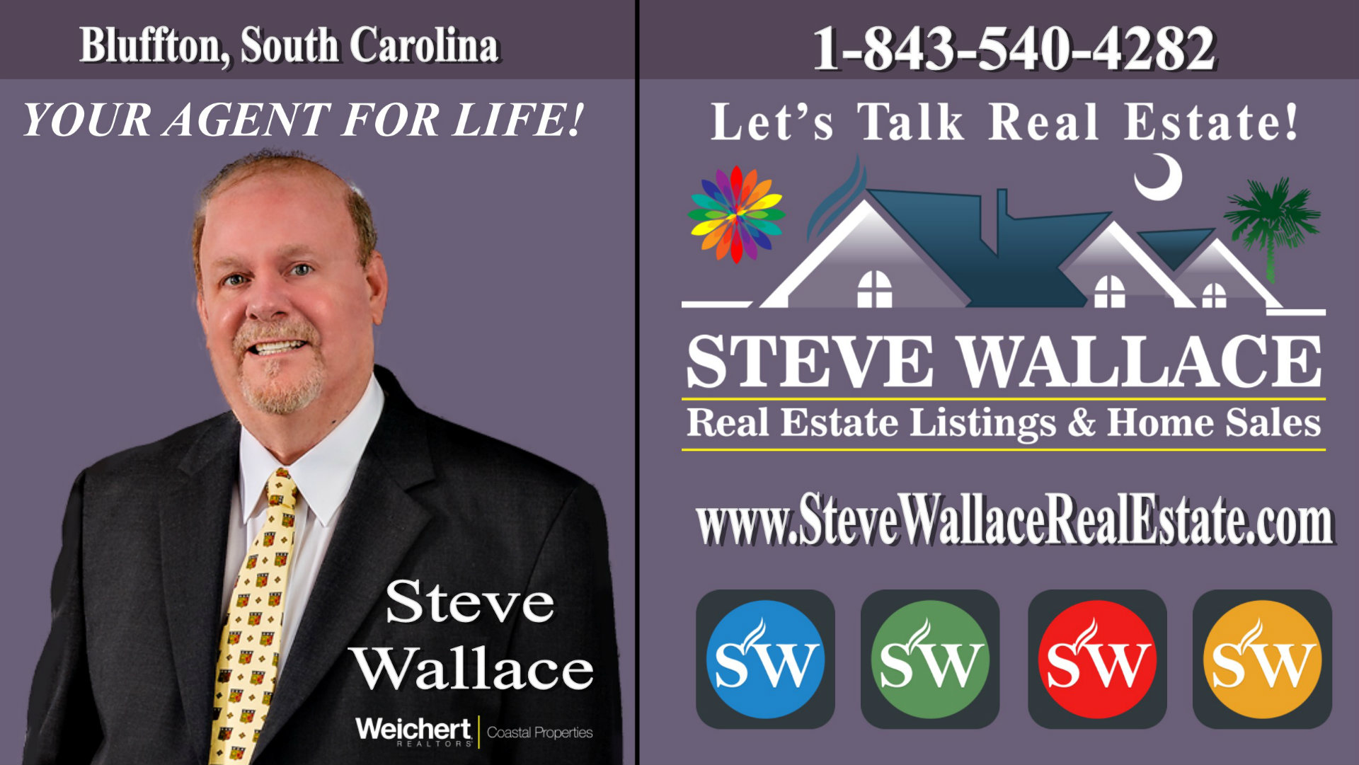 Real Estate Agent for Life, Steve Wallace, ABR, Realtor, Bluffton, SC