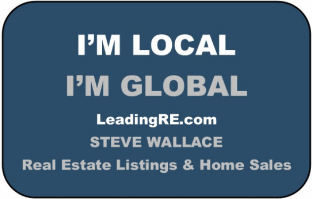 I am Local, I am Global - USA and Global Real Estate Lifestyles by Steve Wallace Real Estate