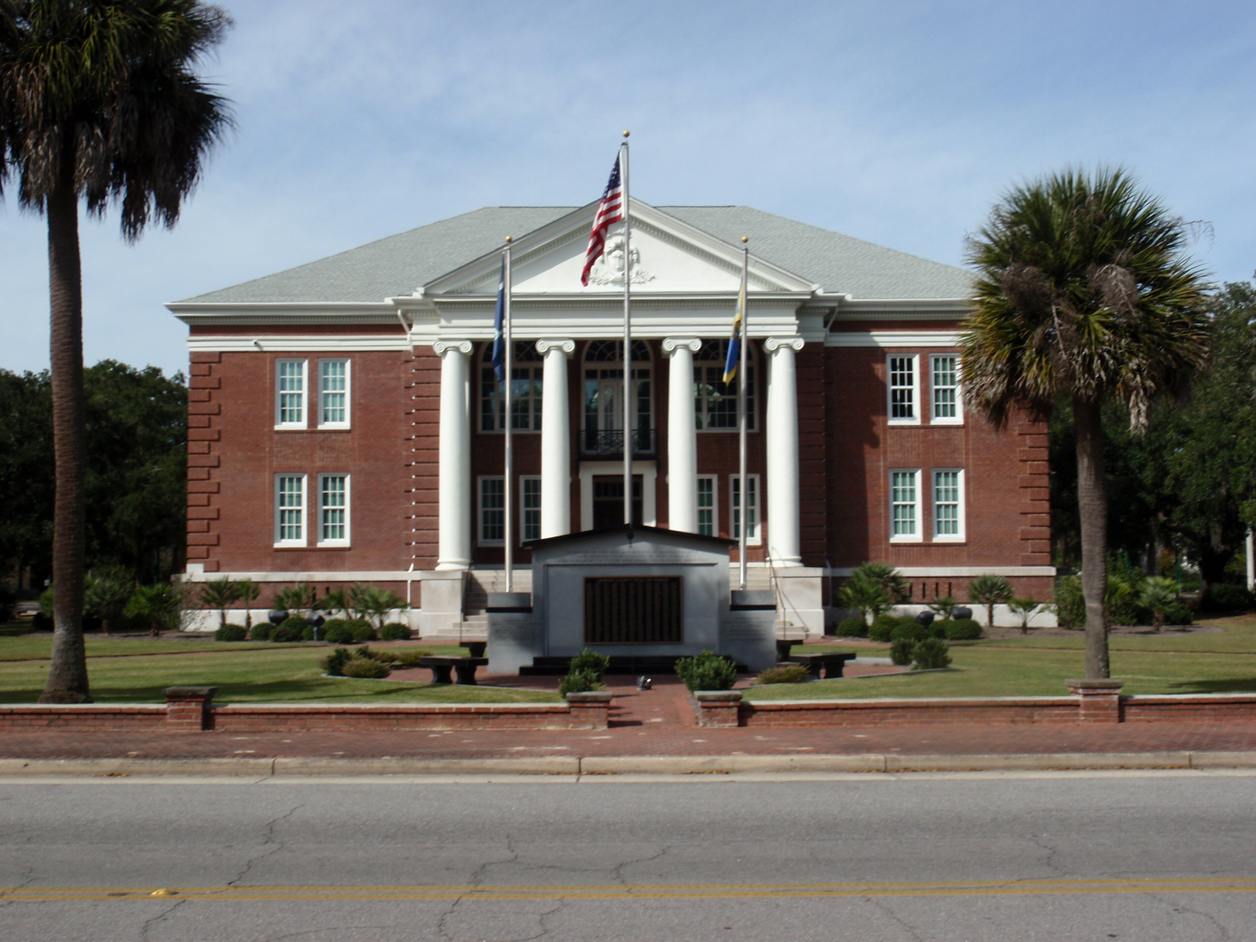 Jasper County SC Courthouse, jasper county real estate and lifestyle, homes for sale in jasper county sc