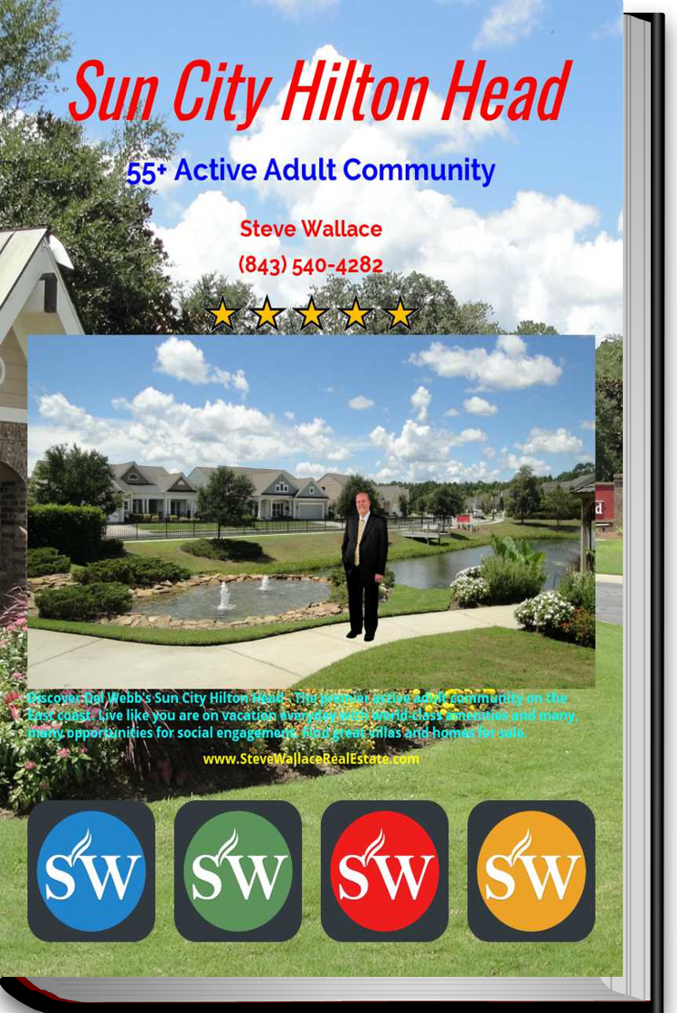FREE eBook, Sun City Hilton Head, Del Webb, active adult, gated community