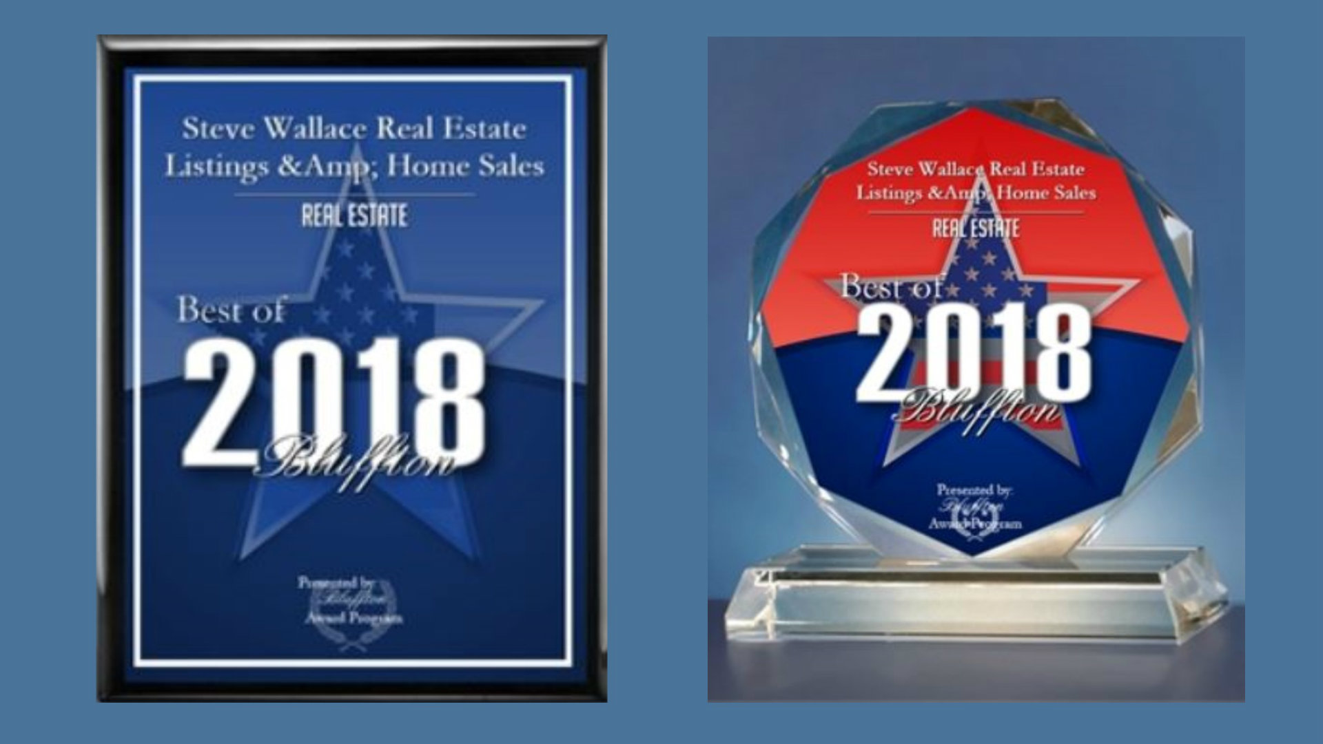 Best of Bluffton, award ,category, real estate, Steve Wallace