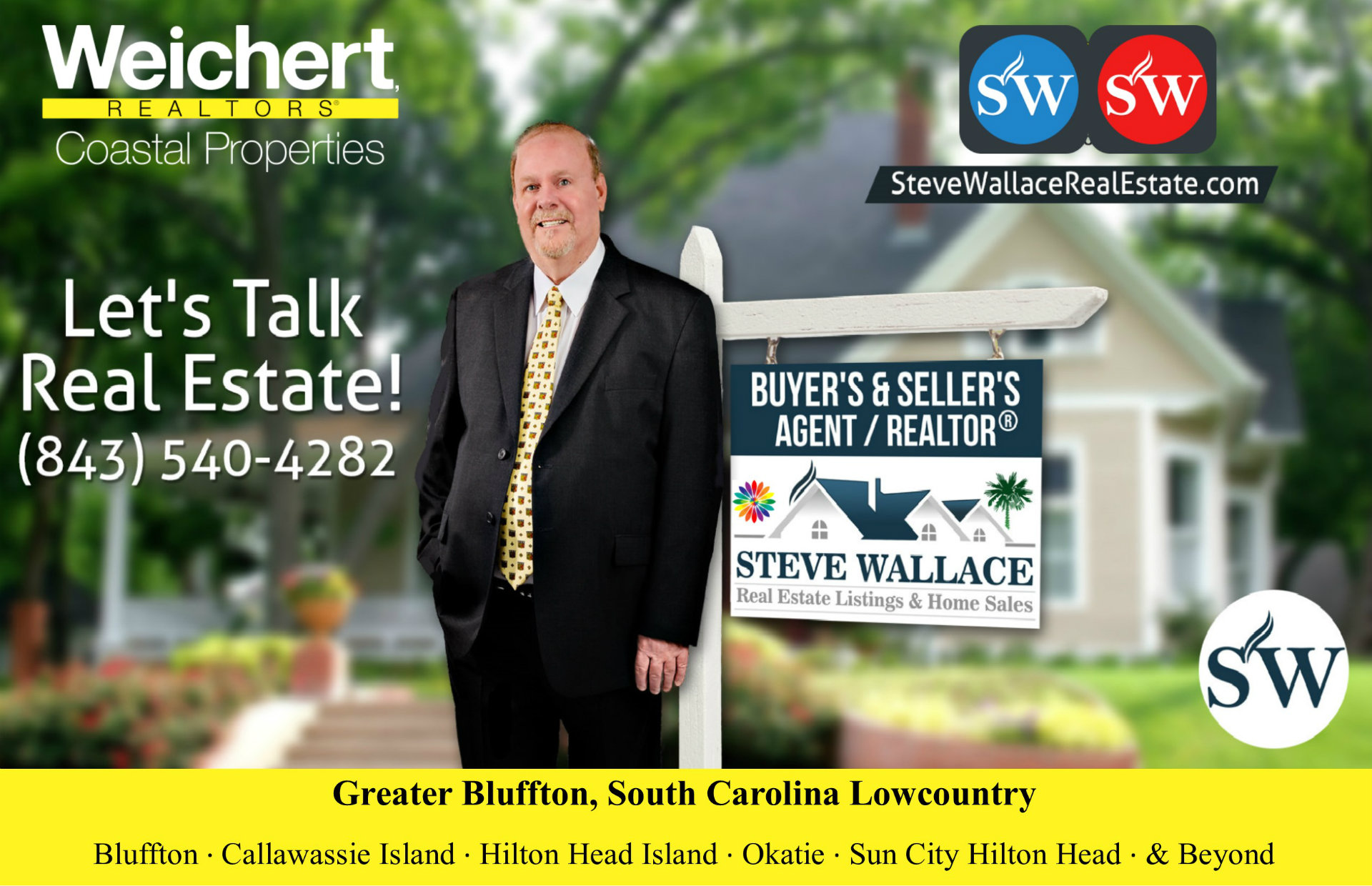 Choose Realtor Steve Wallace Bluffton SC Real Estate Agent