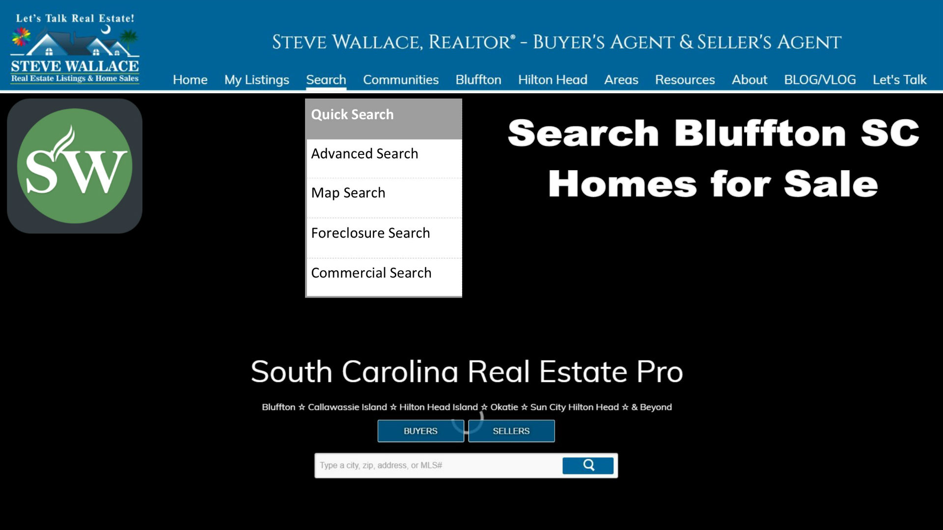 search bluffton sc homes for sale