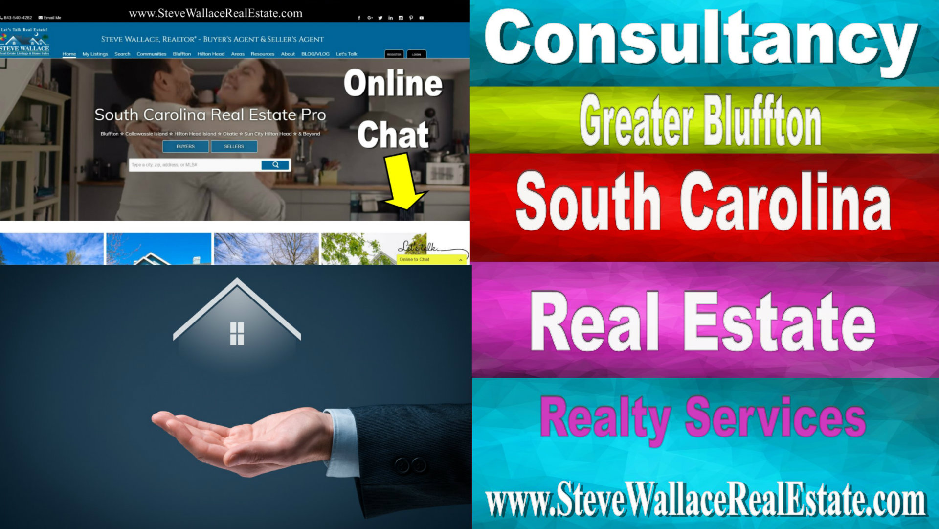South Carolina, Realty, Consultancy, Real Estate, Homes for Sale, Steve Wallace