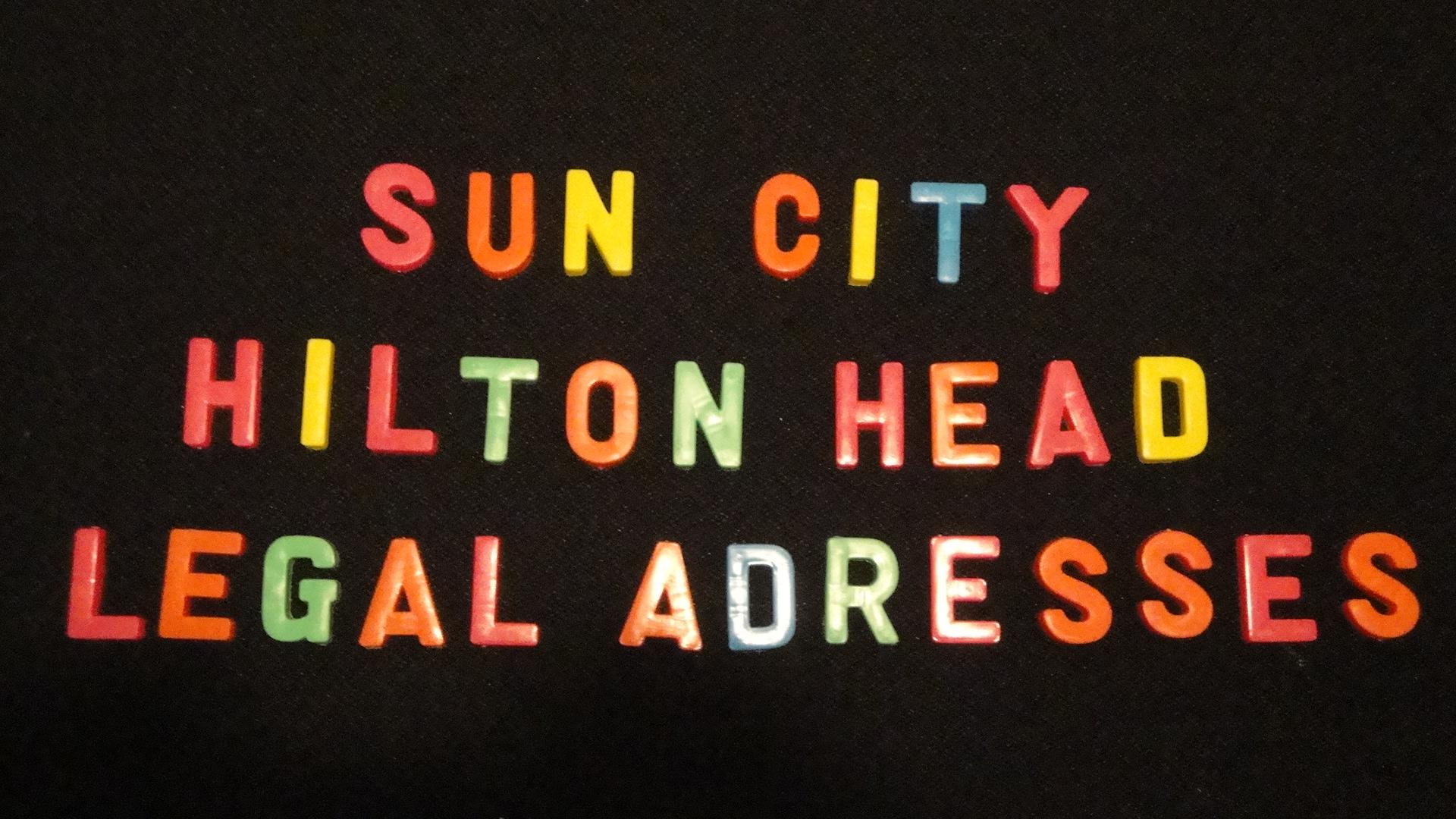 sun city hilton head legal addresses, real estate, homes