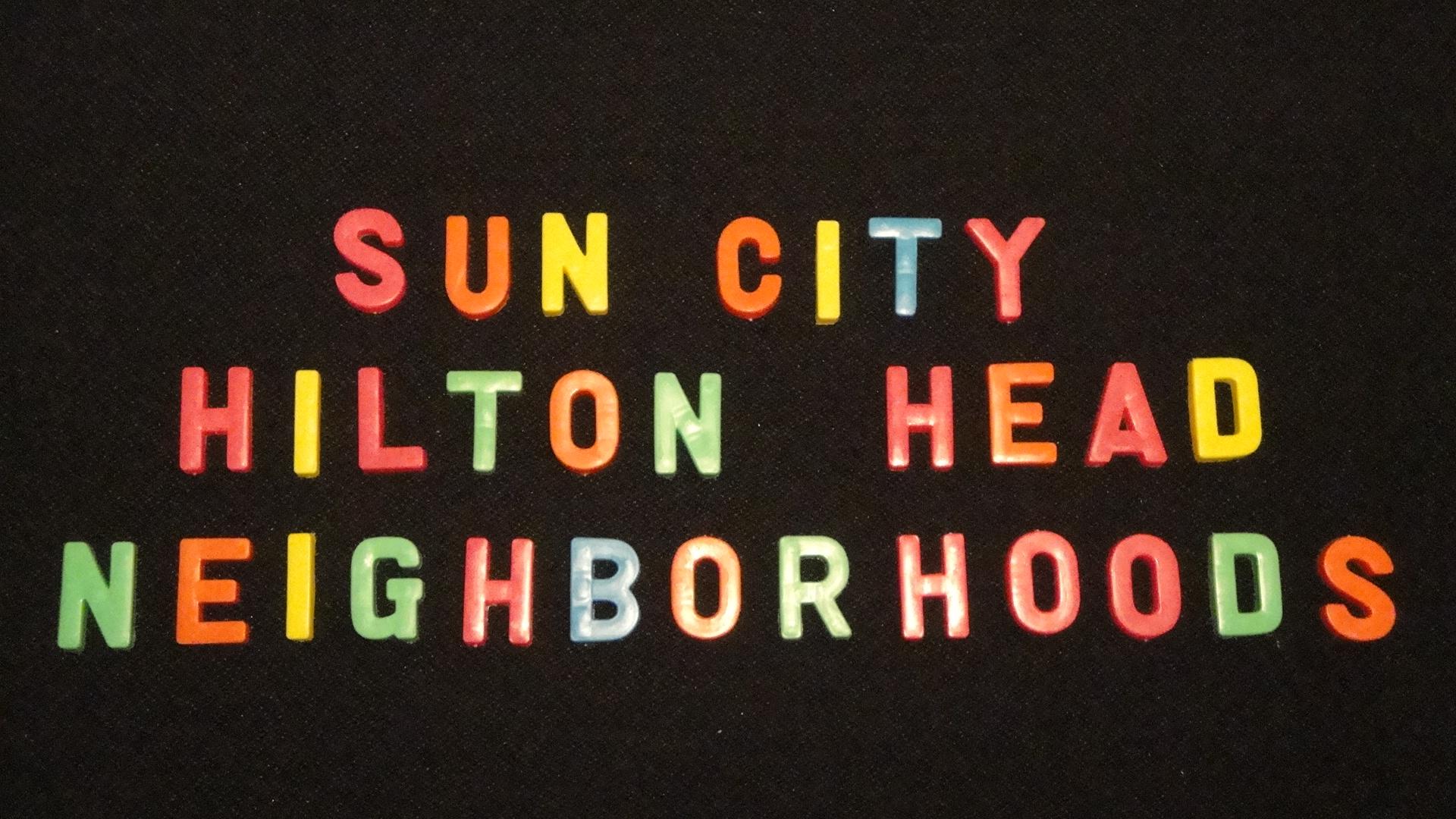 sun city hilton head neighborhoods, legal addresses