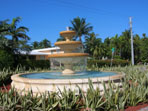 Fountain at Harbor Drive
