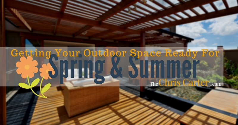getting your outdoor space ready for spring & summer