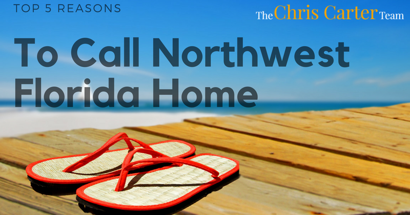 top 5 reasons to call northwest florida home