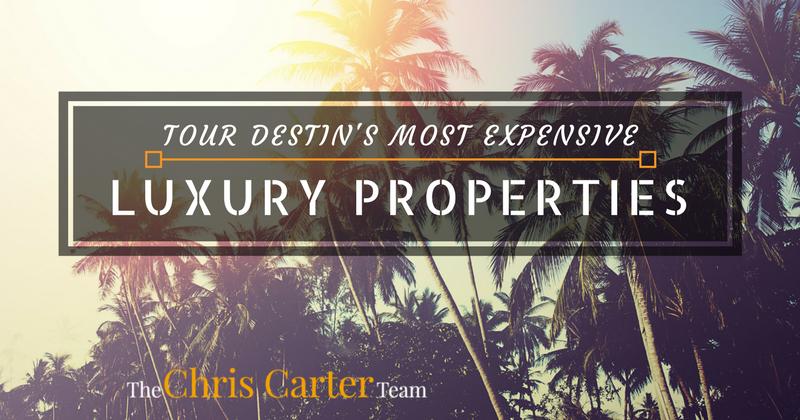tour destin's most expensive luxury propertyies