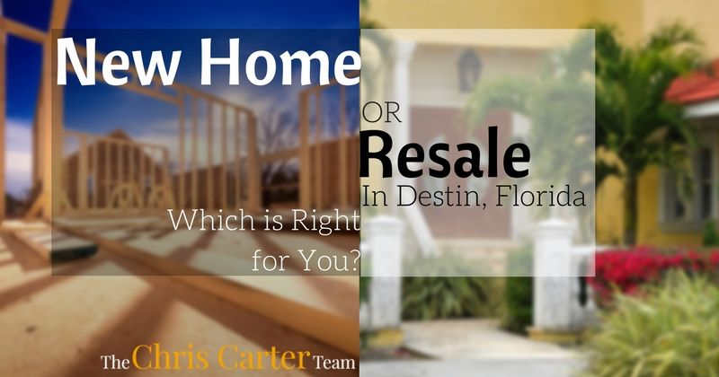 new home or resale in destin florida