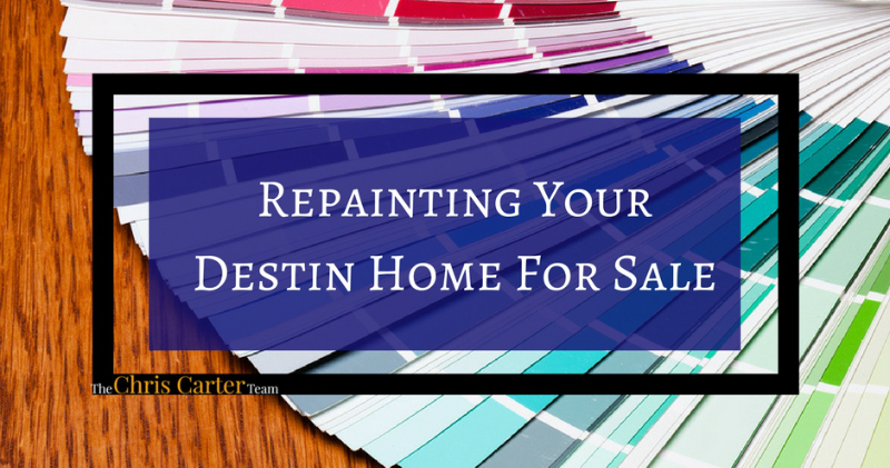 Repainting Your Destin Home For Sale
