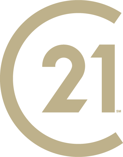 CENTURY 21 rebranded seal, a big C with 21 inside of it.